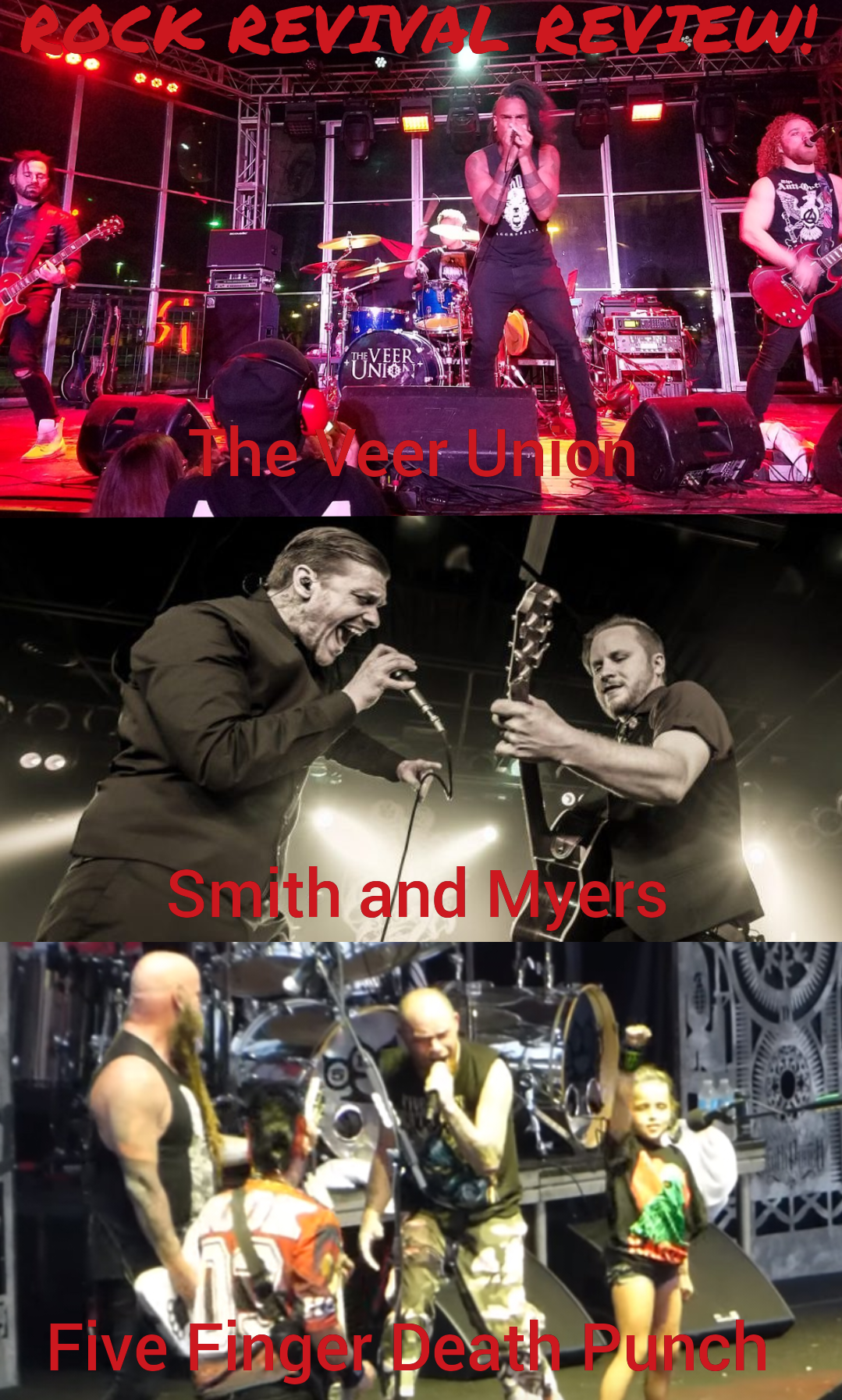 Rock Revival Review:The Veer Union, Smith and Myers, & Five Finger Death Punch