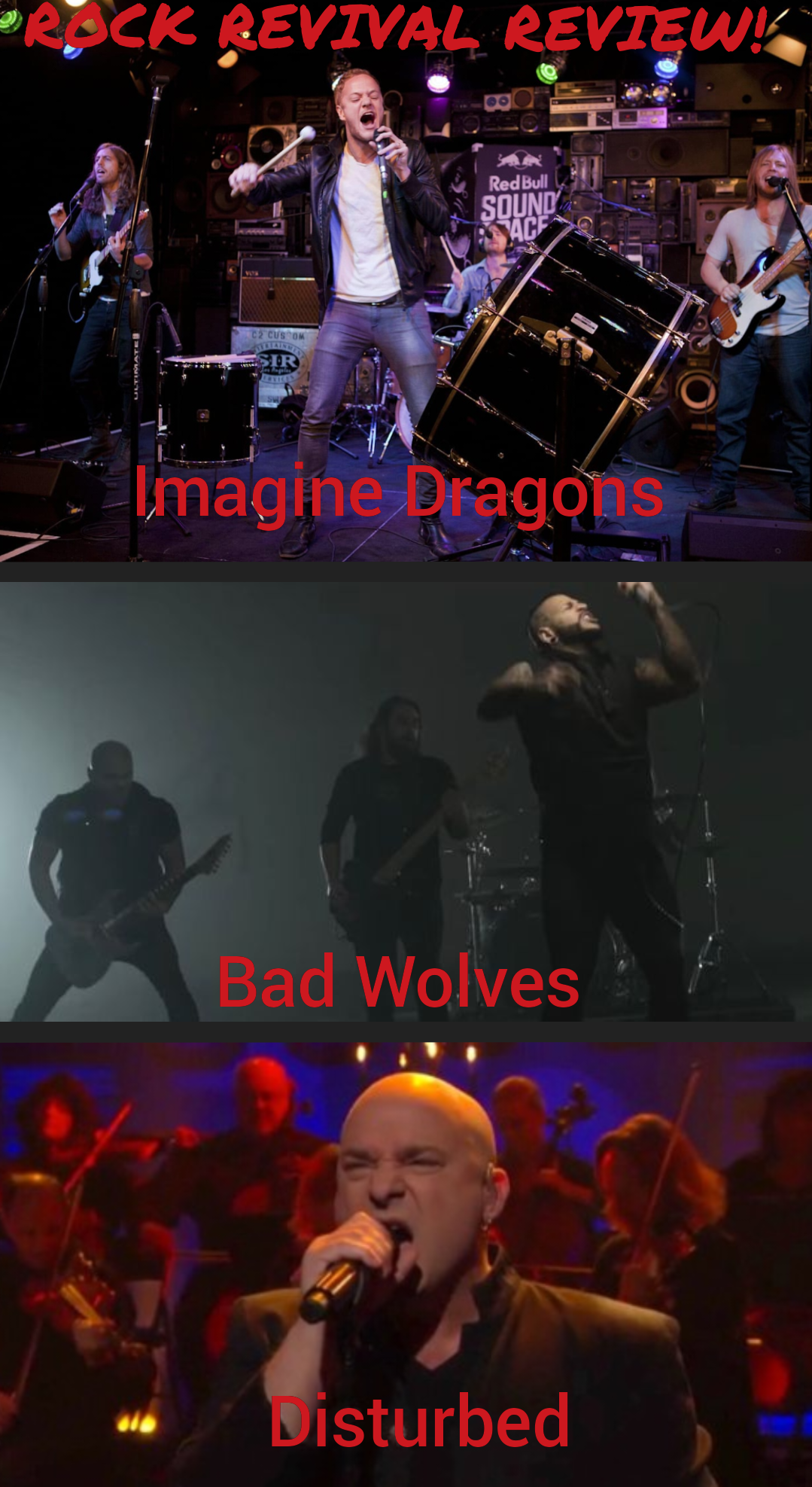 Rock Revival Review: Imagine Dragons, Bad Wolves & Disturbed