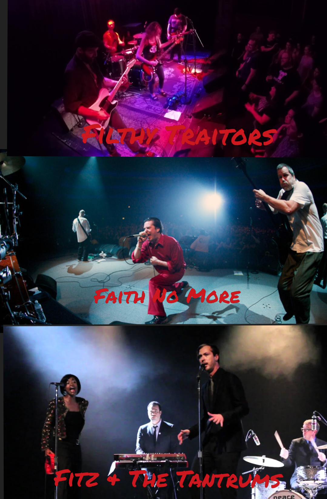 Rock Revival Review: Filthy Traitors, Faith No More, and Fitz & The Tantrums