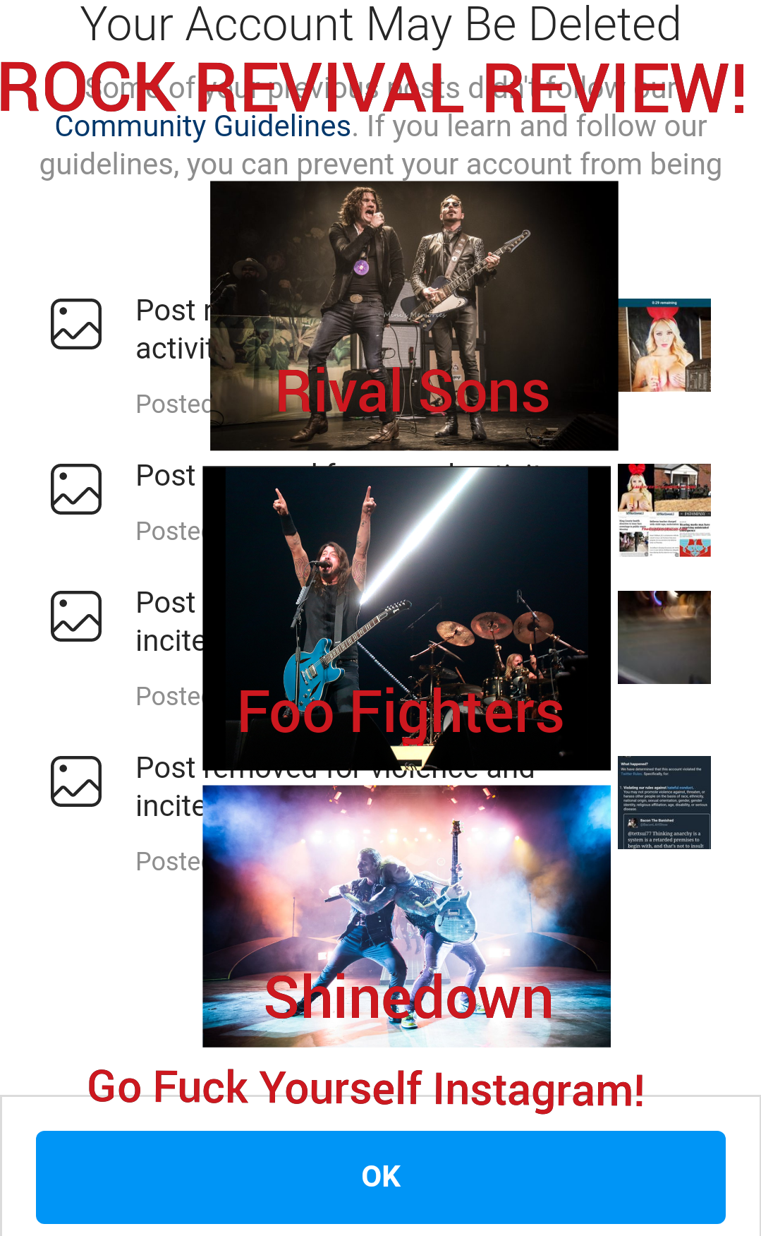 Rock Revival Review: Rival Sons, Shinedown & Foo Fighters